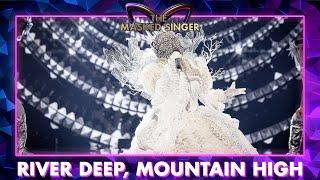 Koningin - 'River Deep, Mountain High' - Tina Turner | The Masked Singer | VTM