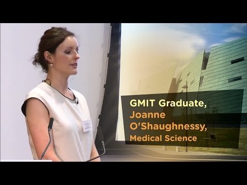 Medical Science Graduate, Joanne O'Shaughnessy