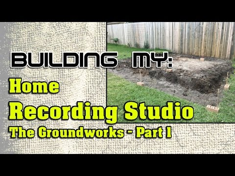 Building My Home Recording Studio, Part 1 | The Ground Works