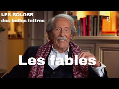 LES BOLOSS des belles lettres : Les fables de La Fontaine #BDBL