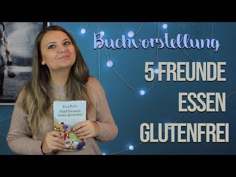 Gesunde Ernährung! - 5 Freunde essen glutenfrei | Buchvorstellung + GEWINNSPIEL [Türchen 9]