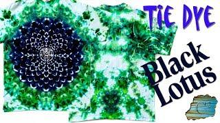 Tie Dye: Black Lotus [Ice Dye]