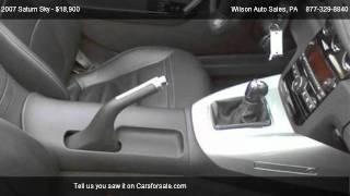 Saturn Sky Roadster 2D @ Wilson Auto Sales