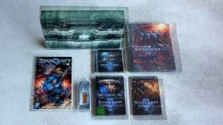 Starcraft 2 Wings of Liberty - Collectors Edition (Change Games Unboxing)
