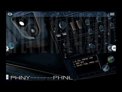 X Plane 10 Android HD/EMERGENCIA¡¡Fallo de motor/Engine failure¡¡