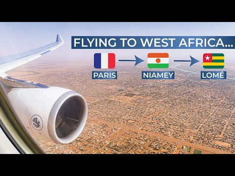 TRIPREPORT | Air France (BUSINESS CLASS) | Paris CDG - Niamey - Lomé | Airbus A330-200