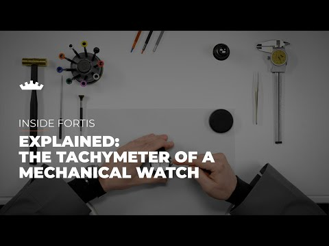 Explained: The Tachymeter Of A Mechanical Fortis Watch | Tutorial