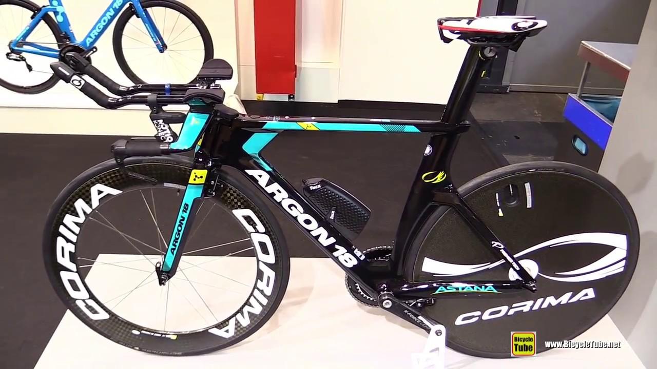2018 Argon 18 118 Next Astana Proteam Time Trial Bike Walkaround