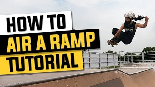 In this tutorial, I demonstrate how to 180 air a quarter pipe on roller skates. Please note my form isn't the greatest as I'm still working on my technique and trying ...