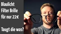 Blaulicht Filter Brille von Amazon für 22€ von Cyxus