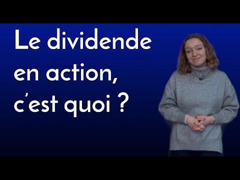 Le b.a.-ba de la bourse : le dividende en action