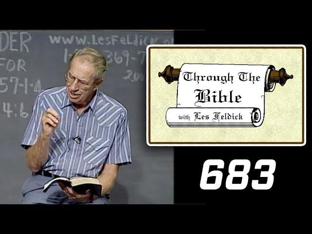 [ 683 ] Les Feldick [ Book 57 - Lesson 3 - Part 3 ] I John 5:1-7 |a