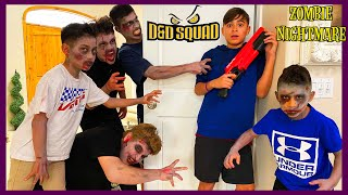 A ZOMBIE NIGHTMARE | ZOMBIES SNEAK ATTACK DAMIAN | D&D SQUAD BATTLES