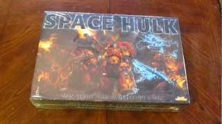 Space Hulk 3rd ed. Unboxing Part 1 of 2