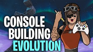 Zapętlaj The EVOLUTION of CONSOLE Building! - Fortnite (One Year Later) | Nova Cast