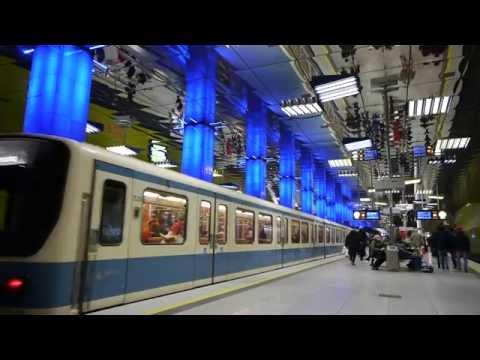 U-Bahn München Zeitraffer - Munich Tube Timelapse