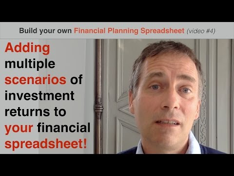 Build your own Financial Planning Spreadsheet (part 4) - adding multiple scenarios