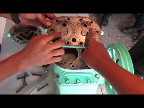 Reciprocating Compressor in Hindi/रेसिप्रोकेटिंग कम्प्रेसर