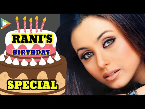 Rani Mukherjee's Birthday Special Part 2 - Bollywoodhungama.com