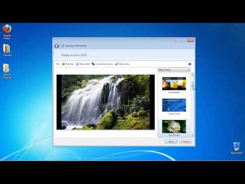 How to Create a Slideshow on a DVD in Windows