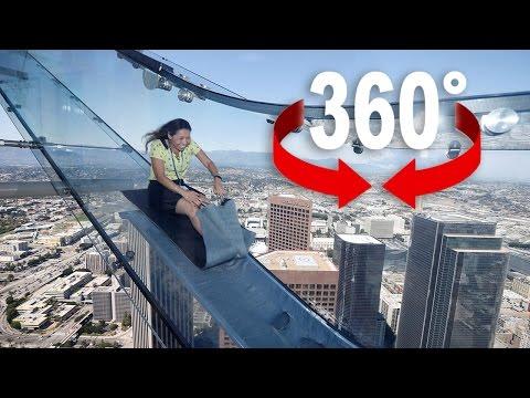 Die höchste Rutschbahn der Welt