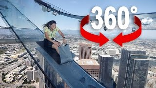 The World's HIGHEST Slide