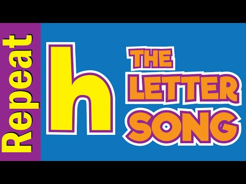 The Letter h Song - Listen & Repeat | Phonics Song | ESL for Kids | Fun Kids English