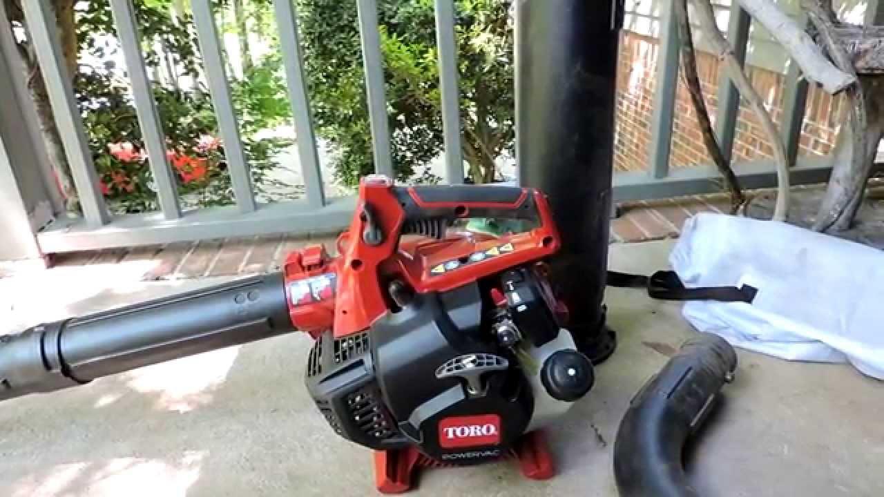 Toro 3 In 1 Gas Blower And Vacuum Youtube