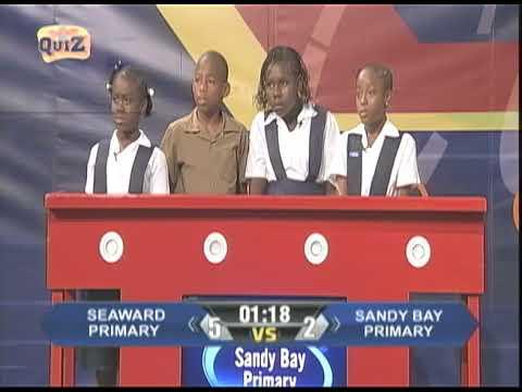 Seaward Primary vs Sandy Bay Primary (TVJ Quest For Quiz) - August 27 2018