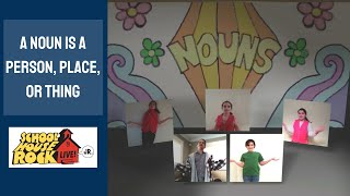 A Noun Is A Person Place Or Thing - Schoolhouse Rock Live Jr. by Jack M. Barrack Hebrew Academy