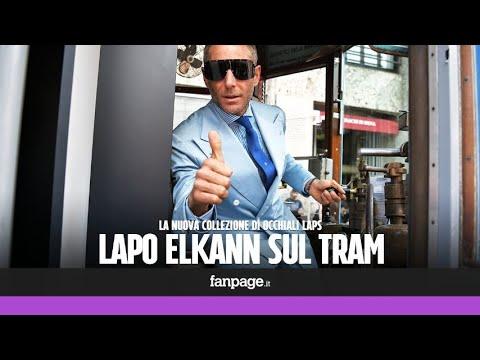 """Lapo Elkann presenta i suoi nuovi occhiali: """"I miei prodotti non sono lusso, sono vicino alla gente"""""""