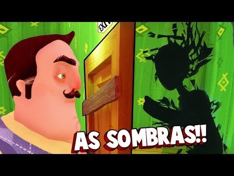 A SOMBRA É O MAIOR SEGREDO DE HELLO NEIGHBOR!!! UM FINAL NOVO?! | Hello Neighbor