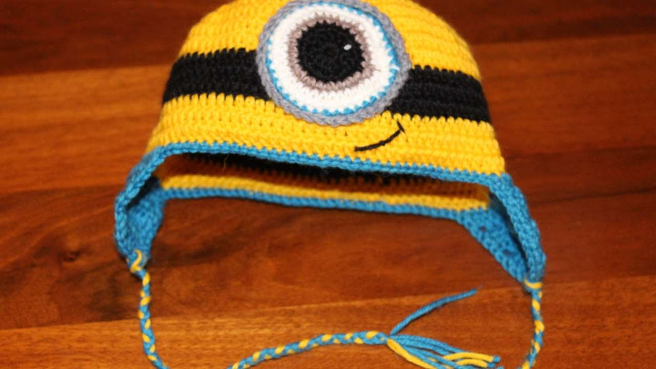 newest 0f793 fd829 Crea un Originale Cappello da Minion all'Uncinetto - Fai da Te Style -  Guidecentral