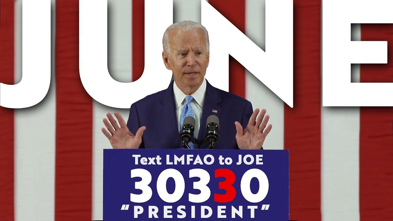 JOE BIDEN'S JUNE 2020: (An Analysis)