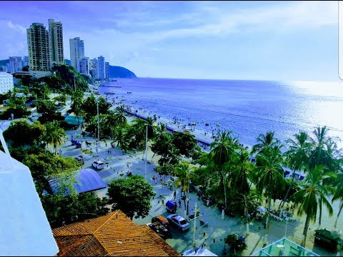Santa Marta, Playa Cristal & Rodadero-Colombia