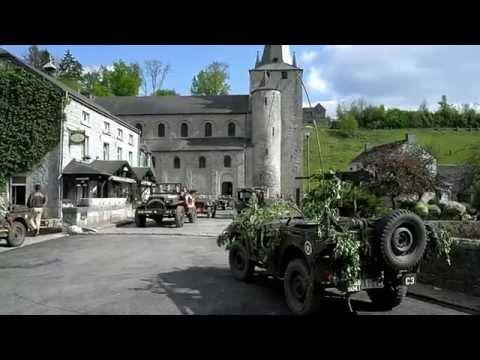 Celles 2014 Militaria Defilé de véhicules alliés 1940-1945