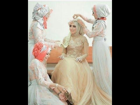 Model Gaun Pernikahan Muslimah 2018 Terindah Dan Cantik Masa Kini