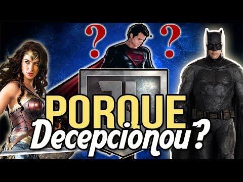 PORQUE LIGA DA JUSTIÇA DECEPCIONOU? | 11 Motivos!