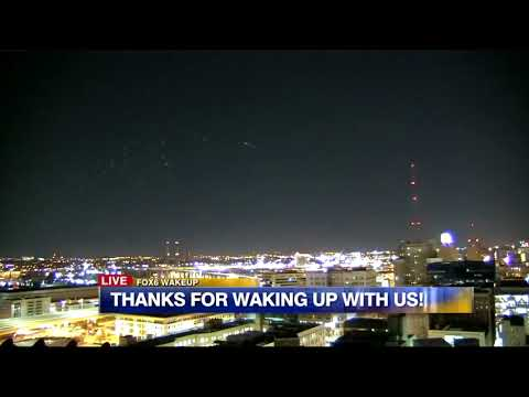 Aliens Milwaukee News Channel Captured Mysterious Light Show Over The City