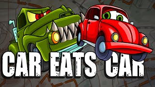 Car Eats Car 4  All Levels Walkthrough