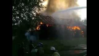 Пожар около Магистральной 11 (Кушва 26.06.2015)