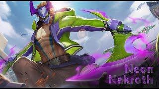 Nakroth - Neon Skin Arena of Valor