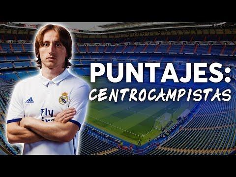 Puntuaciones Real Madrid 2016-2017 | CENTROCAMPISTAS | REAL NEWS