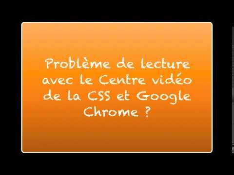 Chrome vs Centre vidéo des Samares