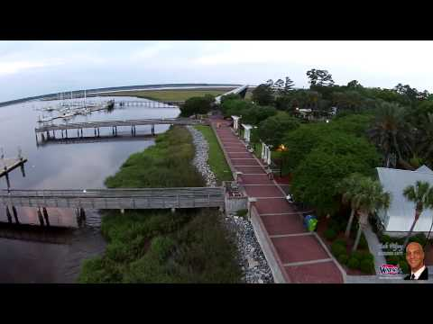 Saint Marys, Georgia Waterfront Drone Flight