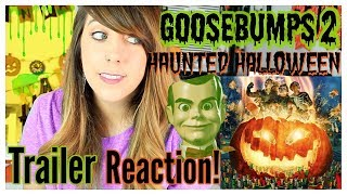 2018 GOOSEBUMPS 2 HAUNTED HALLOWEEN, OFFICIAL TRAILER REACTION!!!