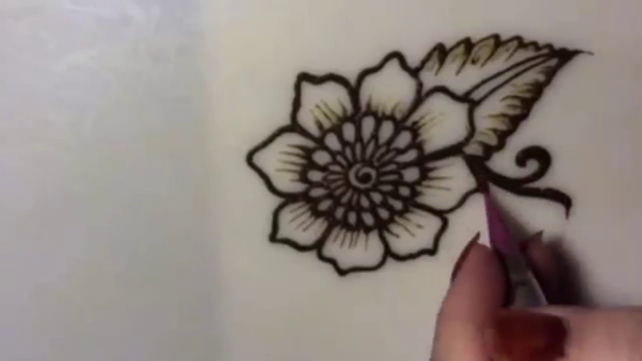 Mehndi Tattoo Flower Designs : Latest mehndi design for hands and body custom temporary tattoos