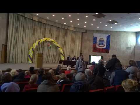 Реновация. Встреча главы управы Головино с жителями. Часть вторая. 19 апреля 2017 г.
