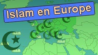 Les pays d'Europe avec le plus de Musulmans !
