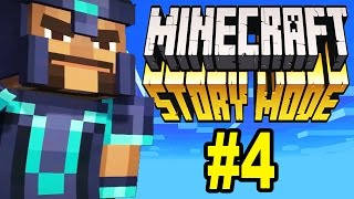 Minecraft Story Mode: WE'RE DEAD (Part 4)